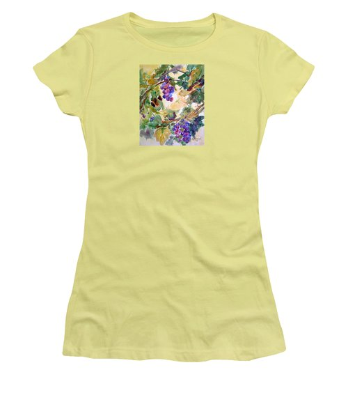 Neighborhood Grapevine Women's T-Shirt (Athletic Fit)