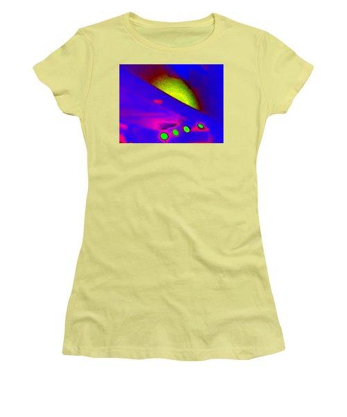 Neon Sunrise Women's T-Shirt (Athletic Fit)