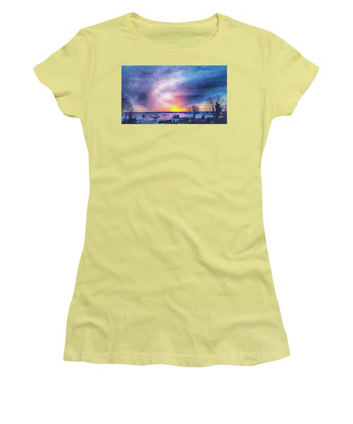 New Dawn Vineyard Haven Women's T-Shirt (Athletic Fit)