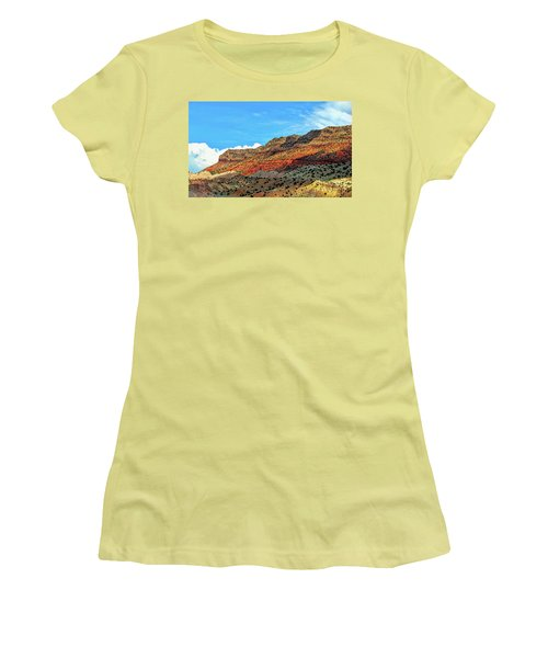 New Mexico Landscape Women's T-Shirt (Junior Cut) by Gina Savage
