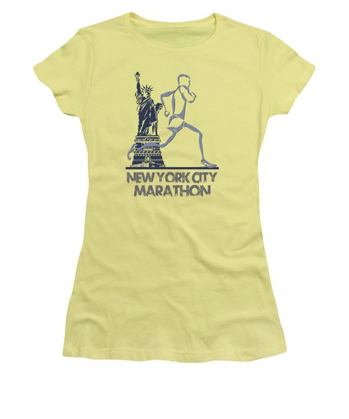 New York City Marathon3 Women's T-Shirt (Athletic Fit)