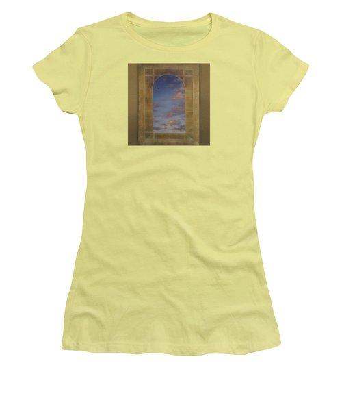 Next Chapter Women's T-Shirt (Junior Cut) by Richard Laeton