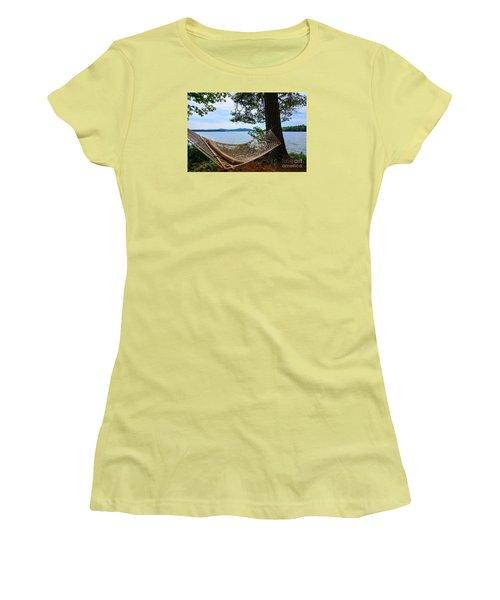 Nice Spot For A Nap Women's T-Shirt (Junior Cut) by Mim White