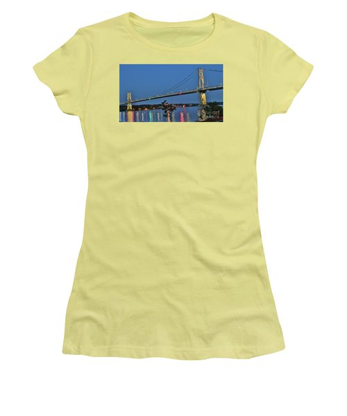 Night Flights Women's T-Shirt (Athletic Fit)
