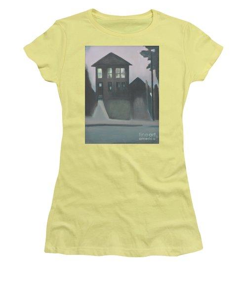 Night Glow Women's T-Shirt (Junior Cut) by Ron Erickson
