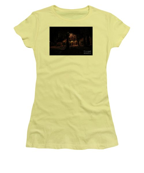 Night In The Park  Women's T-Shirt (Junior Cut) by Ana Mireles