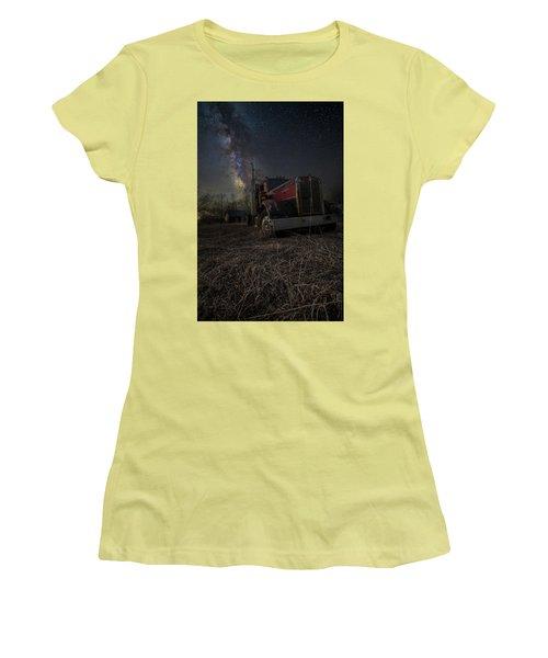 Night Rig Women's T-Shirt (Junior Cut) by Aaron J Groen