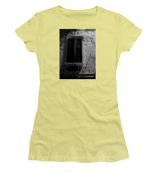 Night Shadows Women's T-Shirt (Junior Cut) by Cesare Bargiggia