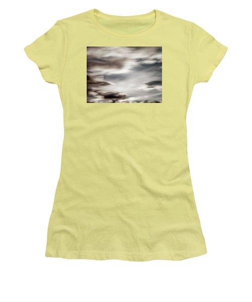 Women's T-Shirt (Junior Cut) featuring the photograph Night Sky 3 by Leland D Howard
