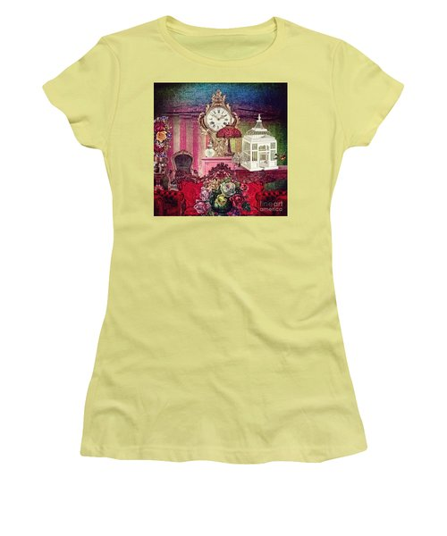 Women's T-Shirt (Junior Cut) featuring the photograph Nightingale by Mo T