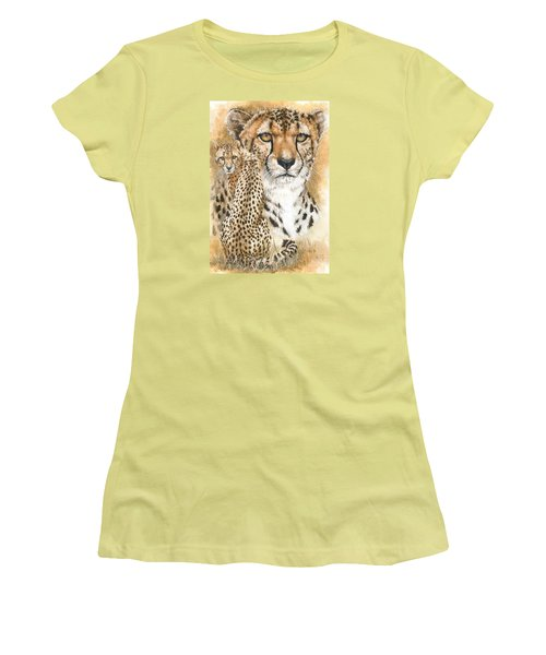 Women's T-Shirt (Junior Cut) featuring the painting Nimble by Barbara Keith