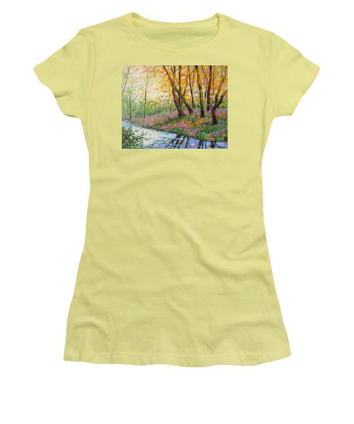 Nisqually Morning Women's T-Shirt (Athletic Fit)