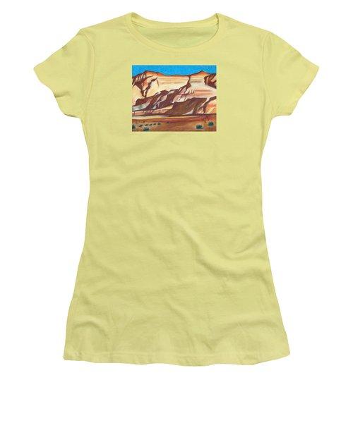 Nm Az Border Women's T-Shirt (Athletic Fit)