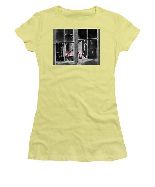 No Smoking Women's T-Shirt (Junior Cut) by Jeffrey Jensen