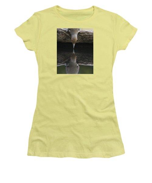 Northern Flicker Women's T-Shirt (Junior Cut) by Doug Herr