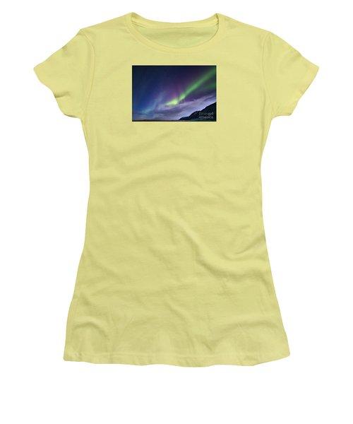 Northetn Lights 6 Women's T-Shirt (Junior Cut) by Mariusz Czajkowski