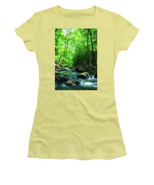 Northwood Brook Women's T-Shirt (Athletic Fit)