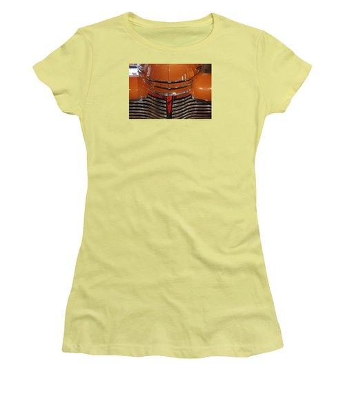 Nose 1941 Chevy Women's T-Shirt (Junior Cut) by John Schneider