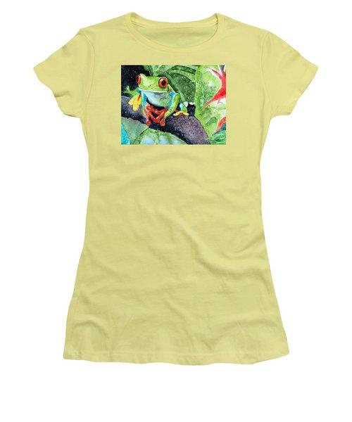 Not Kermit Women's T-Shirt (Athletic Fit)