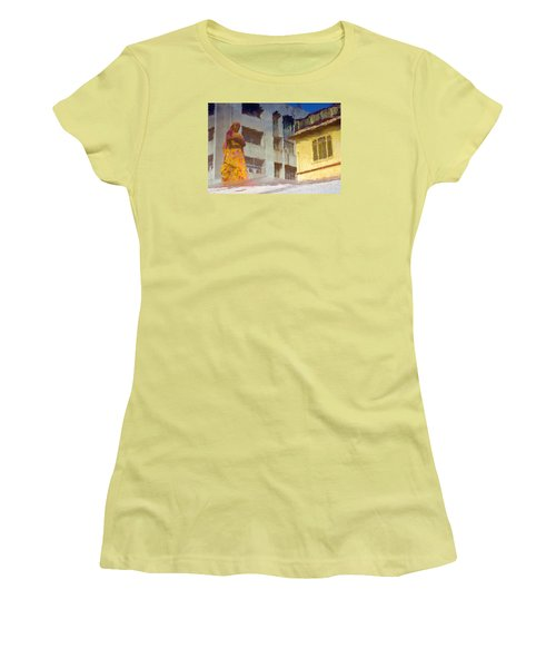 Women's T-Shirt (Junior Cut) featuring the photograph Not Sure by Prakash Ghai