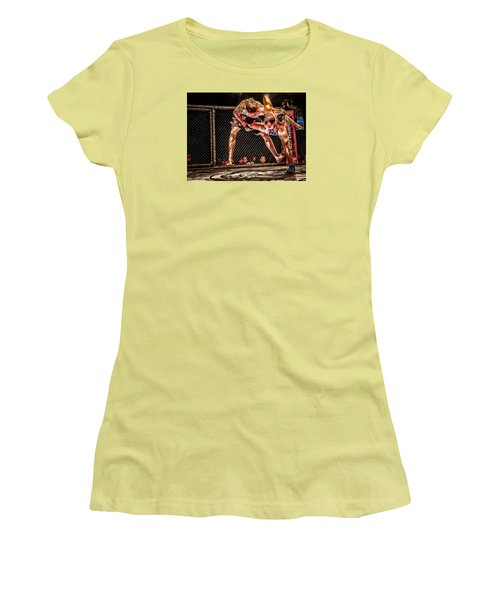 Not Today Women's T-Shirt (Junior Cut) by Michael Rogers