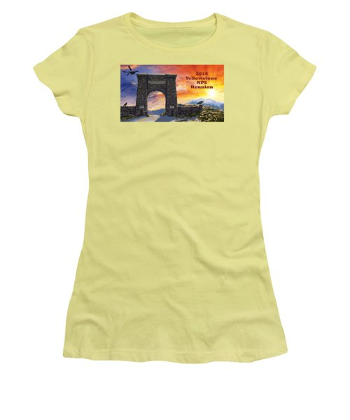 Nps Reunion Women's T-Shirt (Athletic Fit)