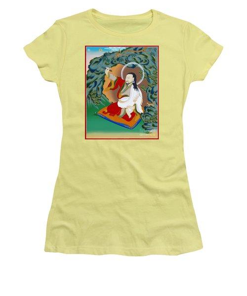 Nubchen Sangye Yeshe Women's T-Shirt (Junior Cut) by Sergey Noskov