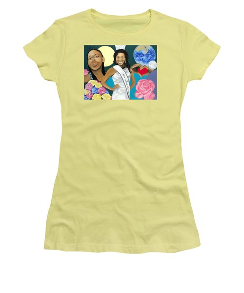 Nubian Princess Women's T-Shirt (Junior Cut) by Angelo Thomas