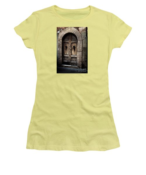 Number 13 Women's T-Shirt (Athletic Fit)