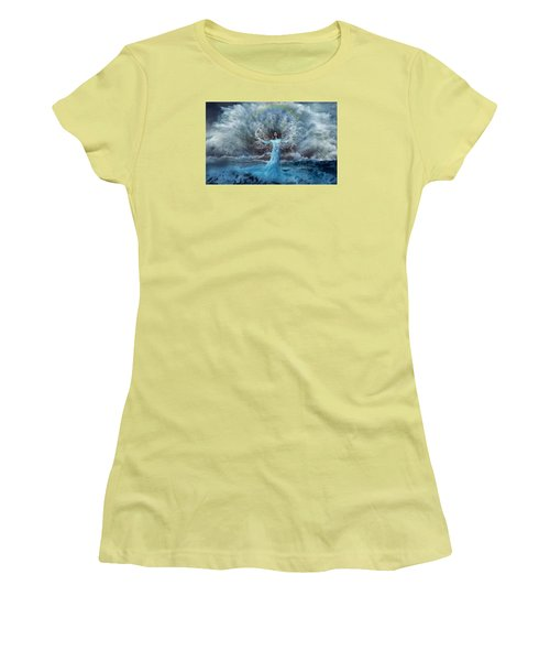 Nymph Of  The Water Women's T-Shirt (Junior Cut) by Lilia D