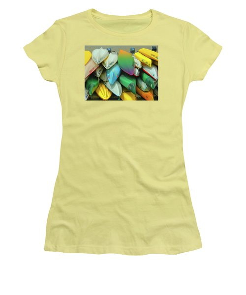 O Row You Didn't Women's T-Shirt (Junior Cut) by Emmy Marie Vickers