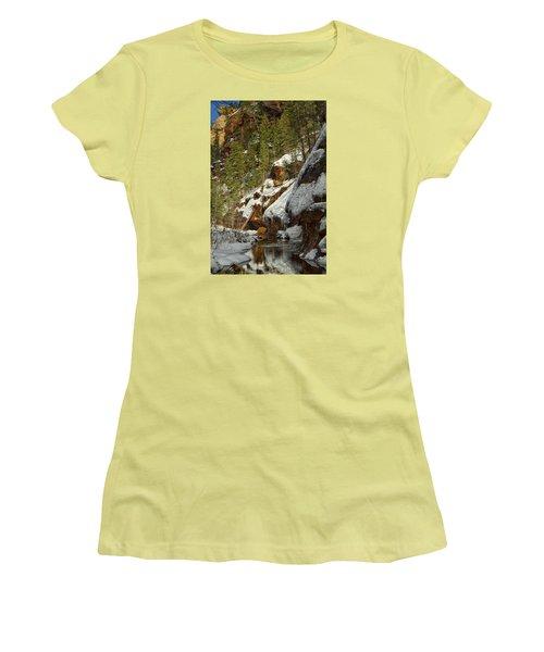 Oak Creek Beckons Women's T-Shirt (Athletic Fit)