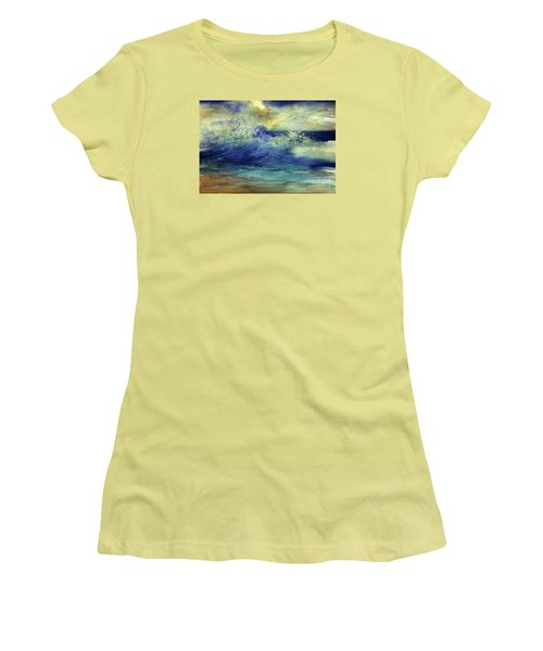 Ocean Women's T-Shirt (Junior Cut) by Allison Ashton