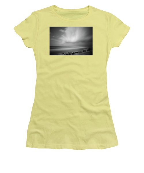 Ocean And Clouds Women's T-Shirt (Athletic Fit)