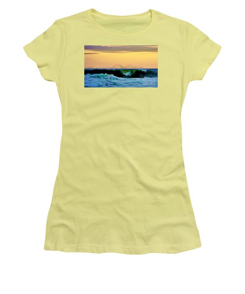 Ocean Power Women's T-Shirt (Athletic Fit)