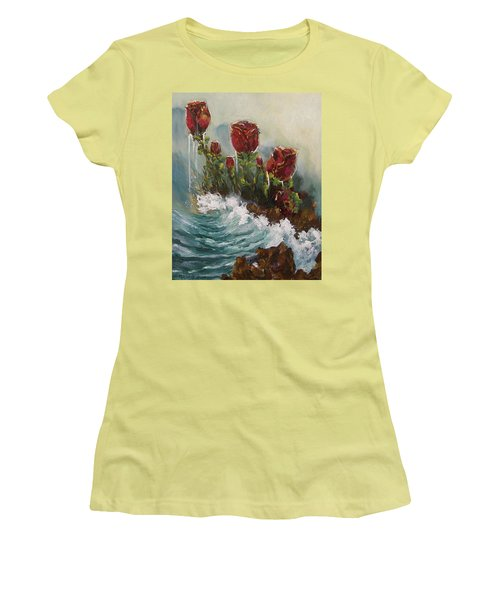 Ocean Rose Women's T-Shirt (Athletic Fit)