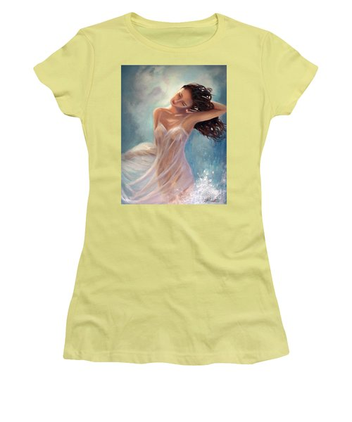 Ocean Serenade Women's T-Shirt (Junior Cut) by Michael Rock