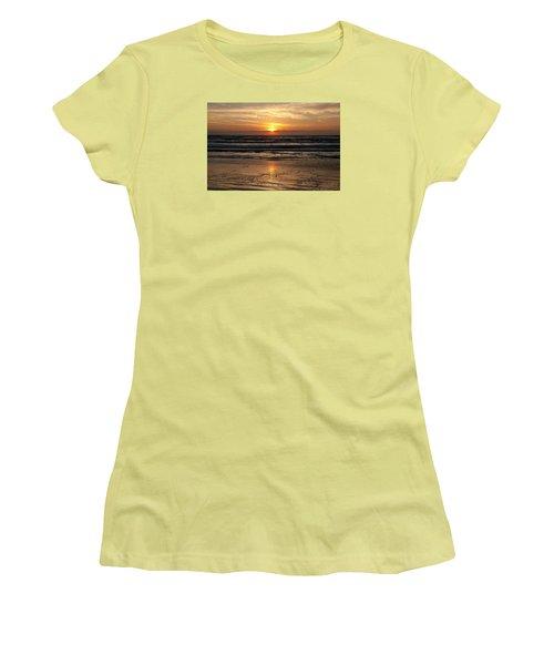 Ocean Sunrise Women's T-Shirt (Athletic Fit)