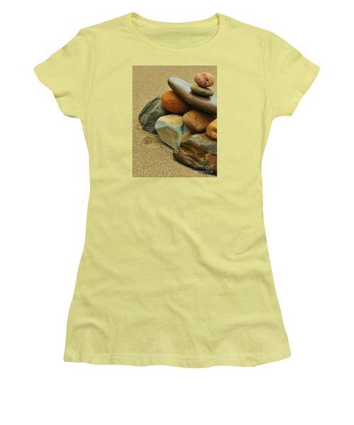 Ocean's Art Women's T-Shirt (Junior Cut) by Pamela Blizzard