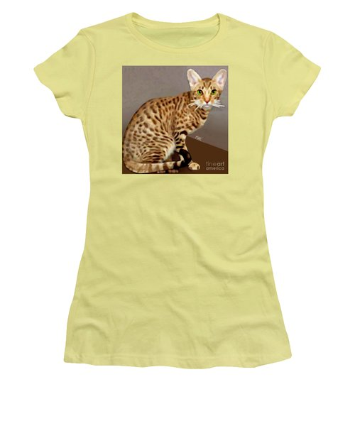 Ocicat Women's T-Shirt (Athletic Fit)