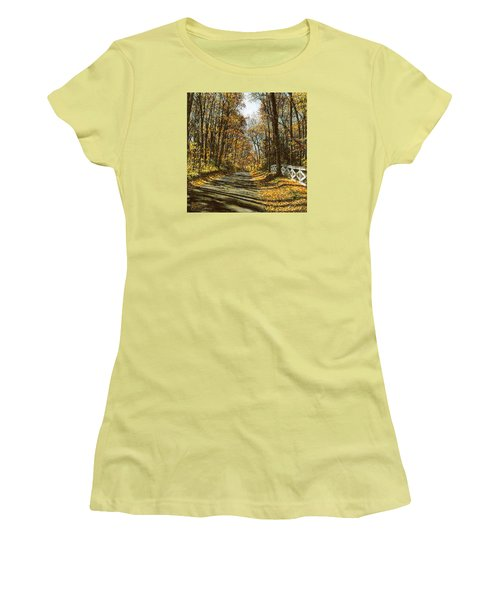 October Backroad Women's T-Shirt (Athletic Fit)