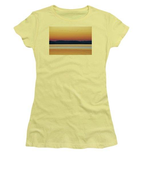 Off To Florida Women's T-Shirt (Junior Cut) by William Bartholomew