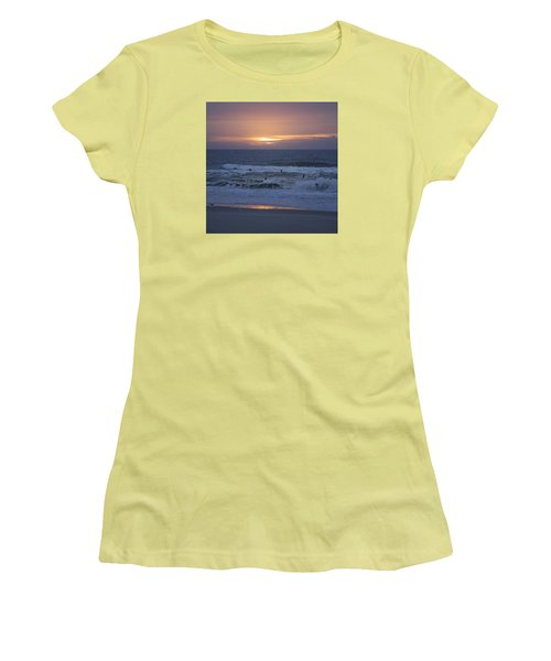 Office View Women's T-Shirt (Athletic Fit)