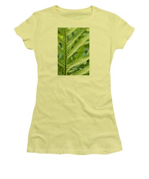 Oh Fern Women's T-Shirt (Junior Cut) by Christina Lihani