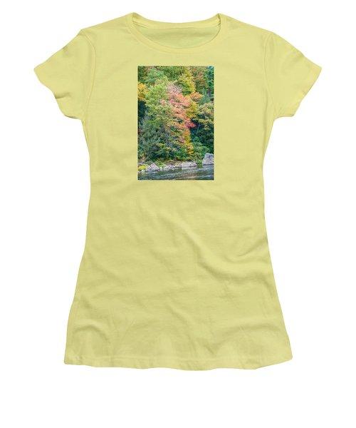 Ohio Pyle Colors - 9709 Women's T-Shirt (Junior Cut) by G L Sarti
