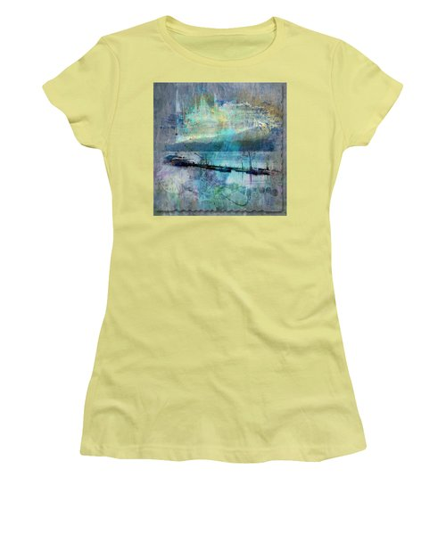 Ohio River Splatter Women's T-Shirt (Athletic Fit)