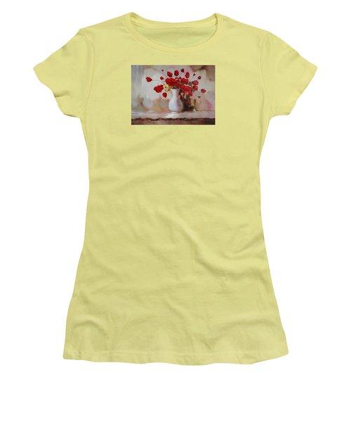 Oil Msc 009 Women's T-Shirt (Athletic Fit)
