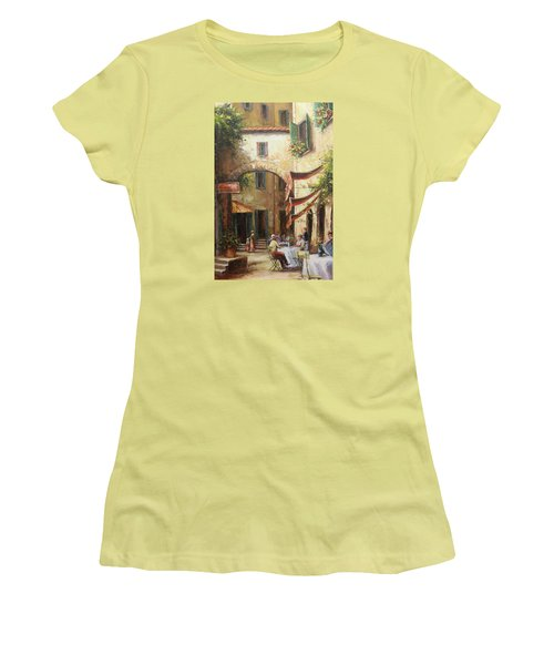 Oil Msc 050 Women's T-Shirt (Athletic Fit)