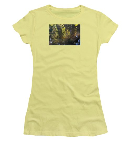 Old And New Life Women's T-Shirt (Junior Cut) by Yuri Santin