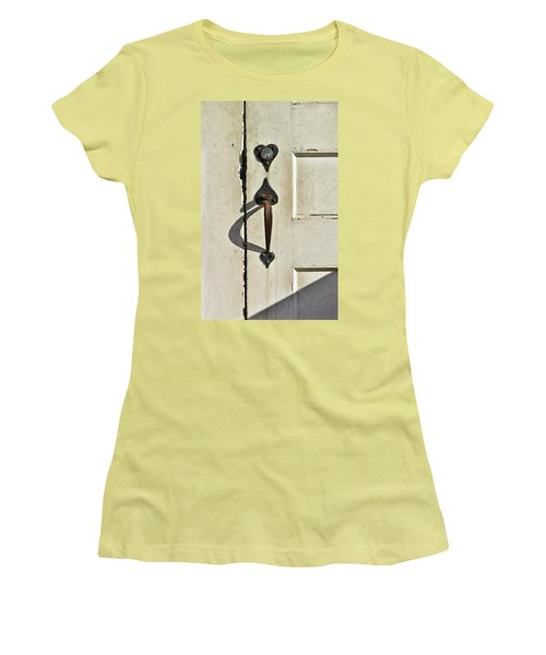 Old Door Knob 3 Women's T-Shirt (Athletic Fit)
